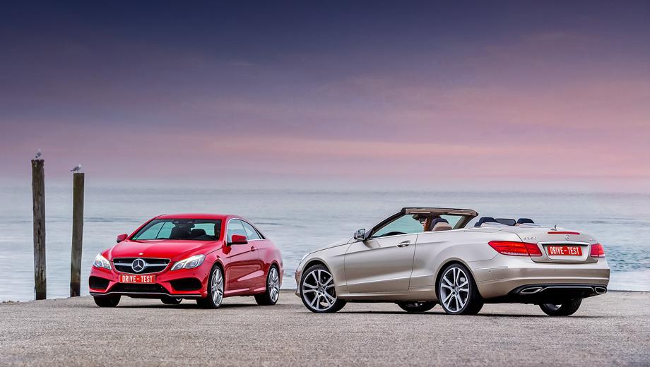 Mercedes-Benz дополнил E-класс новым Купе и Кабриолетом